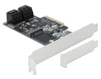 DeLock PCI-Express-x4 SATA, 1x M.2
