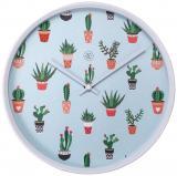 NexTime Wanduhr Cactus Color