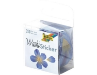 Folia Sticker Washi Blüten Blau