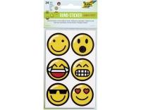 Folia Sticker rund Emojis