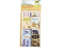 Folia Sticker Briefmarken Freizeit