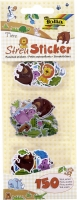Folia Sticker einzeln Tiere