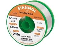 Stannol Lötdraht 611 2,5% Ø 0,5