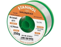 Stannol Lötdraht 611 2,5% Ø 0,7