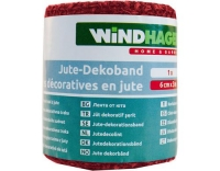 Windhager Jute-Deko-Band 6cmx300m
