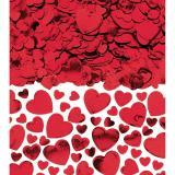Amscan Konfetti Herzen Rot