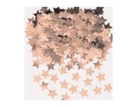 Amscan Konfetti Sterne rotgold