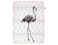 present time Geschirrtuch Flamingo