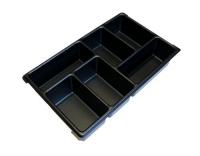 L-Boxx Kleinteileeinsatz mit 6 Mulden