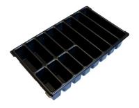 L-Boxx Kleinteileeinsatz mit 12 Mulden